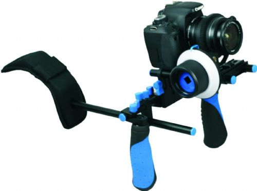 NEW Pro DSLR RL-02 Hand and Shoulder Video Rig (Rig Only-No Follow focus)